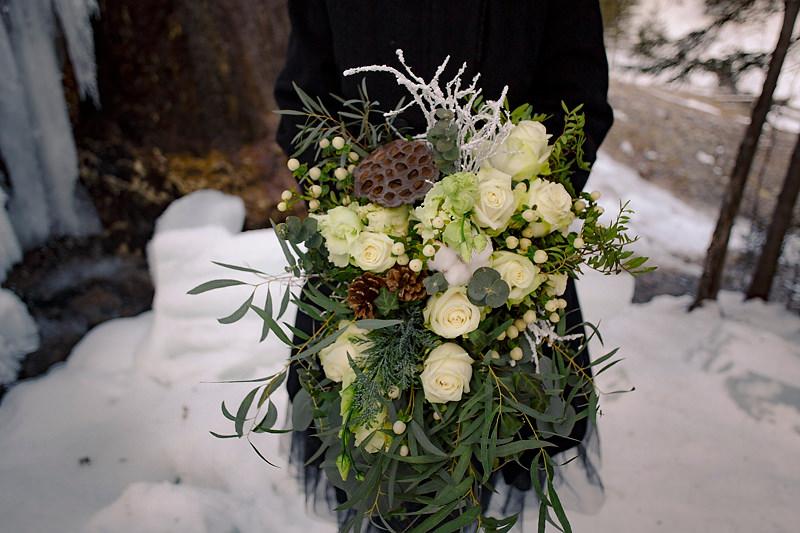 Buchet cu flori naturalle