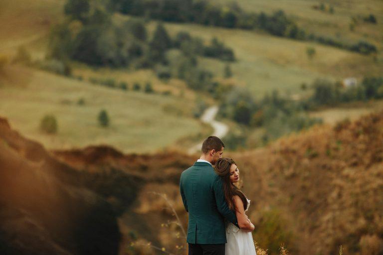 Sedinta foto la Racos dupa nunta