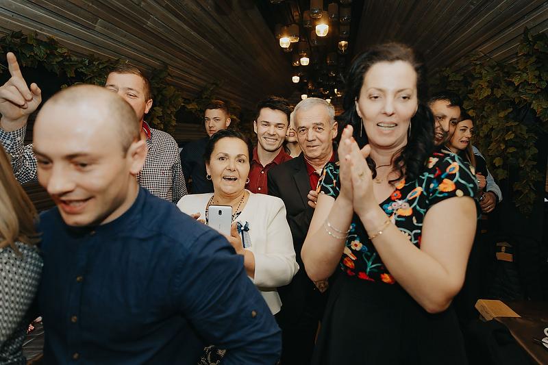 Petrecerea de la cununia din Brasov